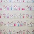 Seaside Huts Pink
